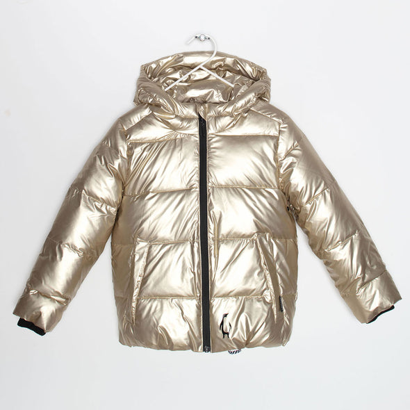 Puffer Jacke Black Sheep Gold
