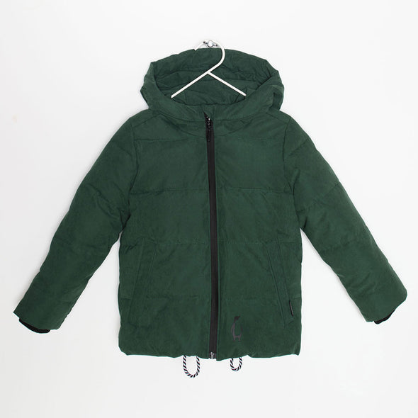 Puffer Jacke Black Sheep Green
