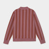 Sweatshirt Zipped Stripes