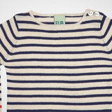 Pullover Stripes navy