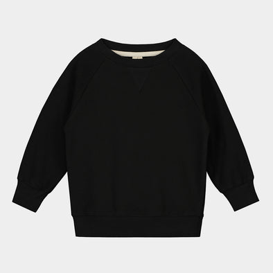Sweatshirt Crewneck Nearly Black