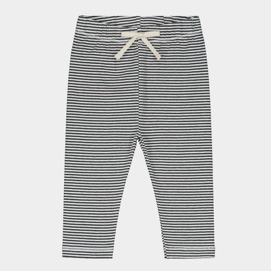 Baby Leggings Black Striped