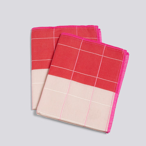 Haushaltstuch Colour Cloth pink 2er Set