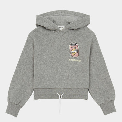 Kapuzenpullover Embroidered Cropped