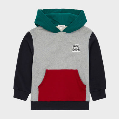 Kapuzenpullover Colourblock