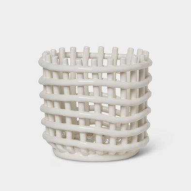 Korb Ceramic Small Off-White