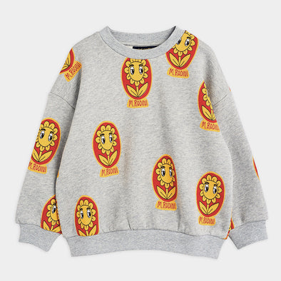 Sweatshirt Flowers AOP
