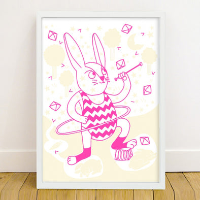 Phospho-Poster Bunny