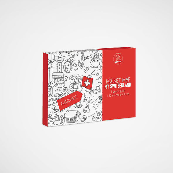 Pocket Map Switzerland