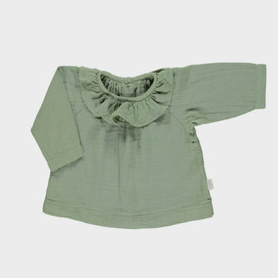 Bluse Charme Oil Green