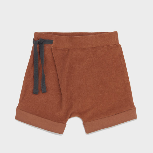 Harem Shorts Frottee Burnt Clay