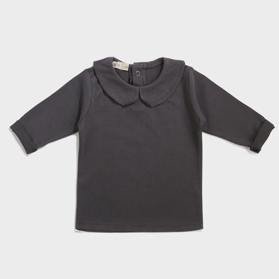 Baby Shirt Collar Graphite
