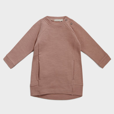 Kleid Sweater Dusty Blush