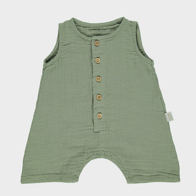 Jumpsuit Poivre Oil Green
