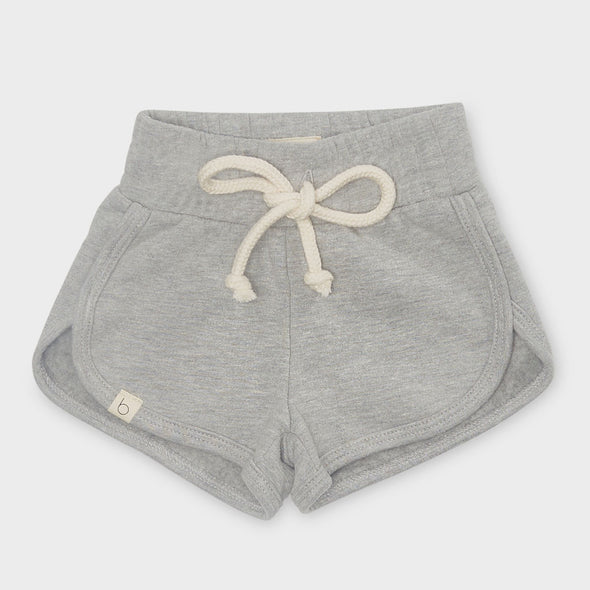 Shorts Terry Fleece Grey