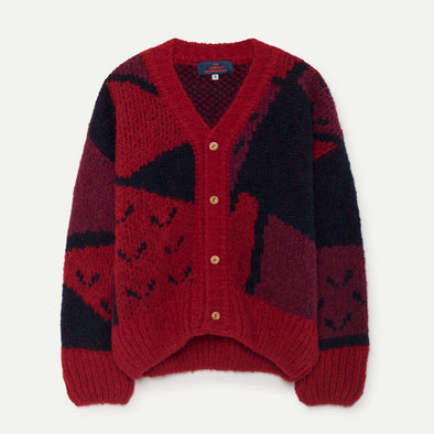 Cardigan Red Apple
