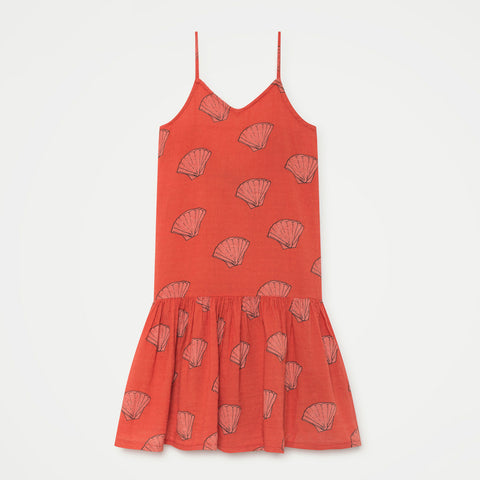 Kleid Red Shells