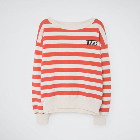 Sweatshirt White Stripes