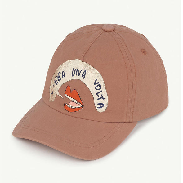 Baseball Cap Brown Mouth