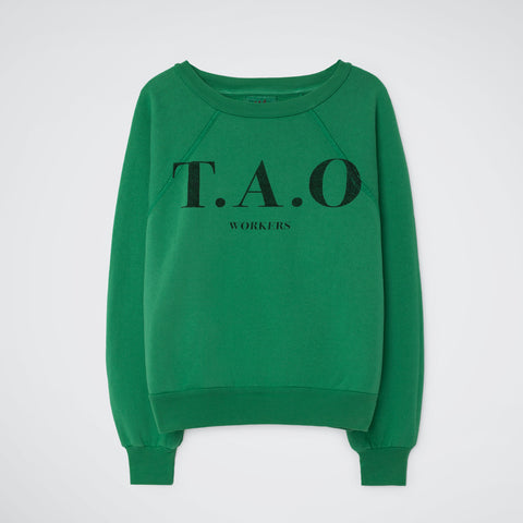 Sweatshirt T.A.O green