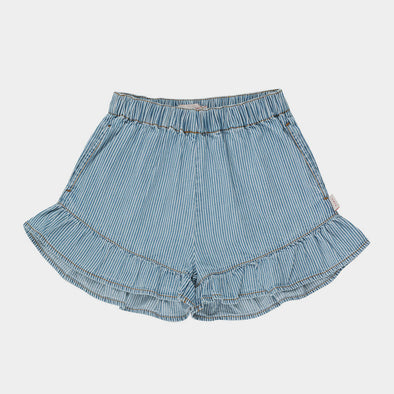 Shorts Denim Striped