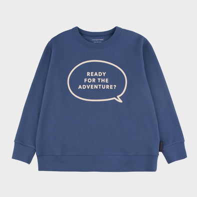 Sweatshirt Adventure blue