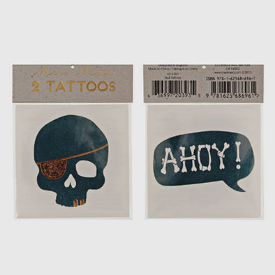 Tattoos Skull & Ahoy