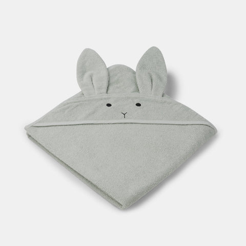 Baby-Badetuch Rabbit Dusty Mint