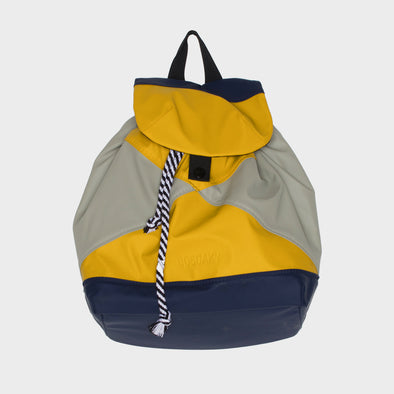 Rucksack Waterproof Indigo/Curry