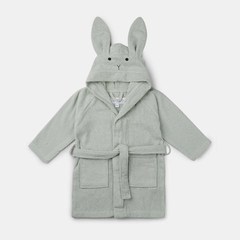 Bademantel Lilly Rabbit Dusty Mint
