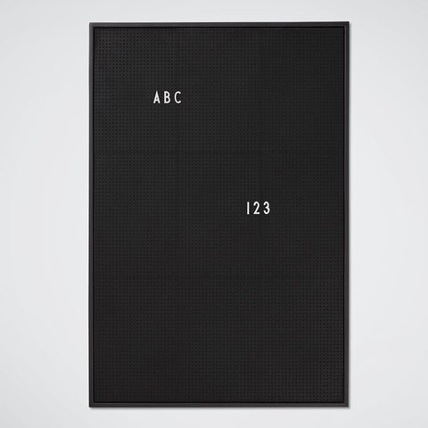 Message Board A2 Black