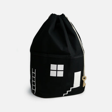 Toy Bag House No. 2 Black Big