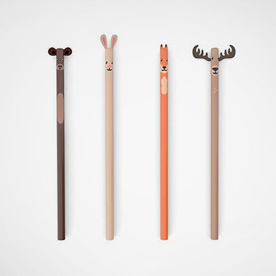 Bleistift-Set Woodland