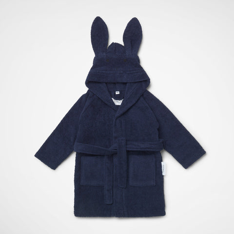 Bademantel Lily Rabbit navy
