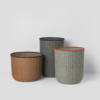 Korb Set Braided Baskets (3er Set)