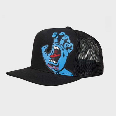 Baseball Cap Screaming Hand