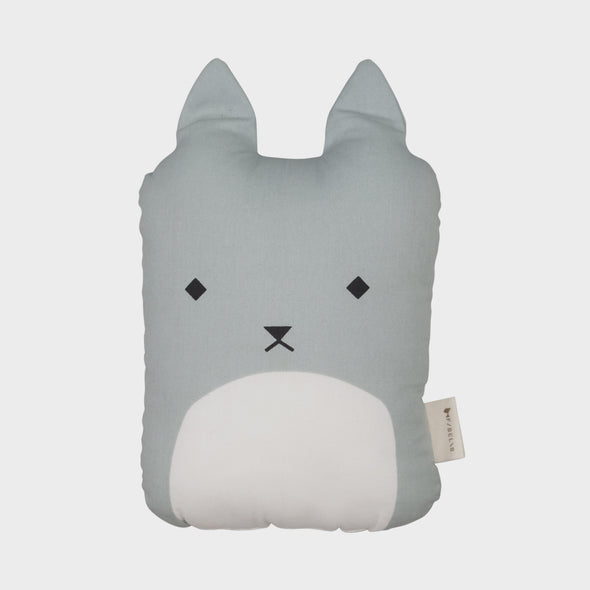 Kissen Cuddly Cat Blue