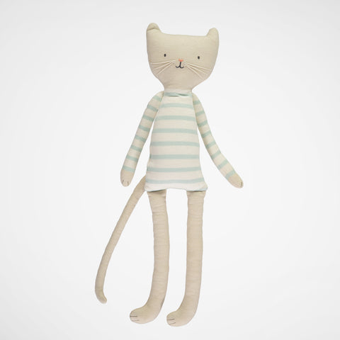 Puppe/Kissen Knitted Cat