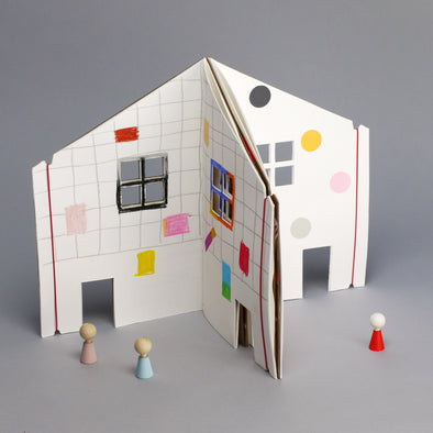 Malbuch The Dollhouse