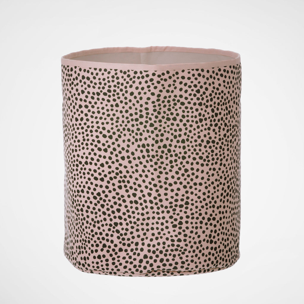 FERM LIVING Korb Rose Dots