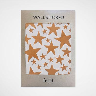 Wandsticker Stars Copper