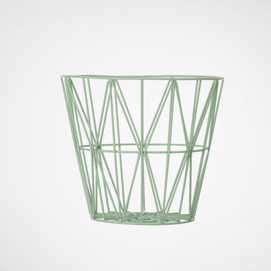 Wire Basket Mint small