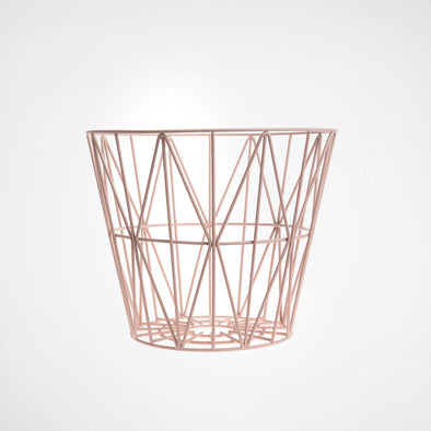 Wire Basket Rose small
