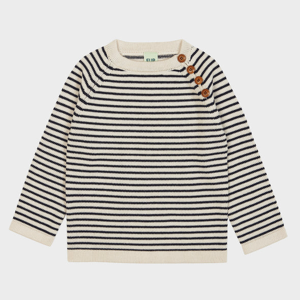 Pullover Knit Stripes