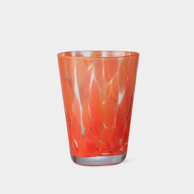 Glas Casca Poppy Red