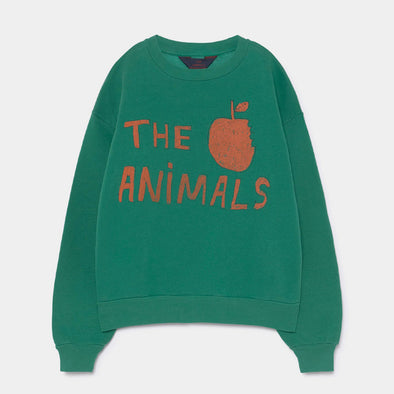 Sweatshirt Bear Green Animal