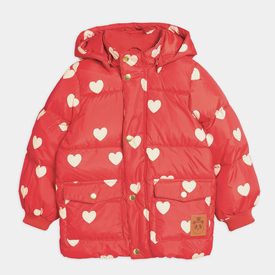 Jacke Pico Puffer Hearts Red