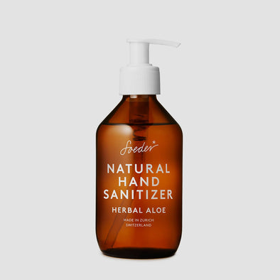 Natural Hand Sanitizer Aloe 250 ml