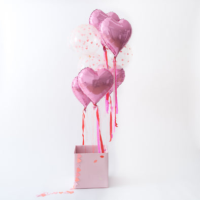 Ballon Set Hearts