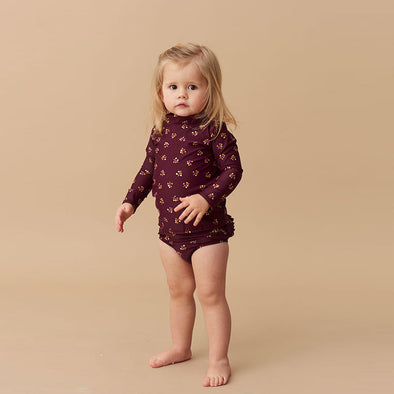 Baby Swimshirt Astin Winterberry
